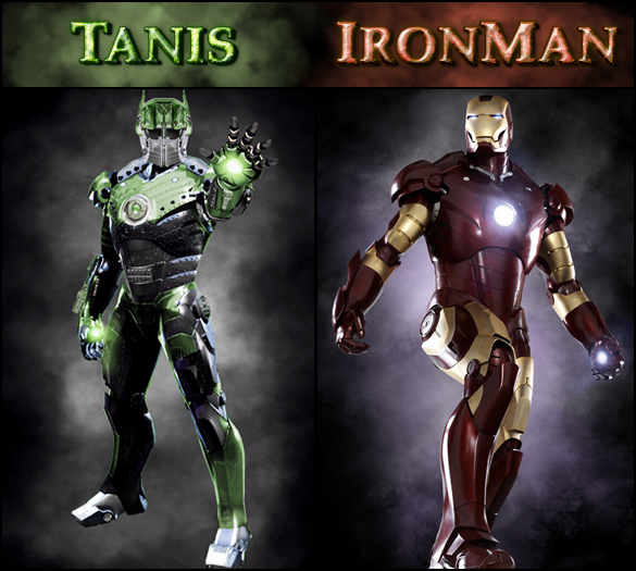 Tanis Vs. Ironman